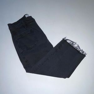 Denim Cropped Jeans by: Frame